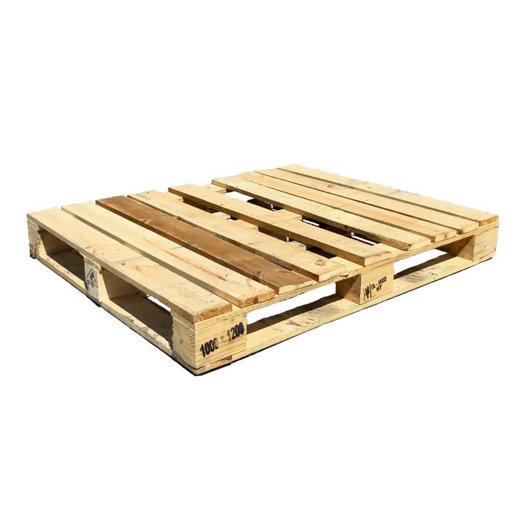 Industriepalette mit Rahmen